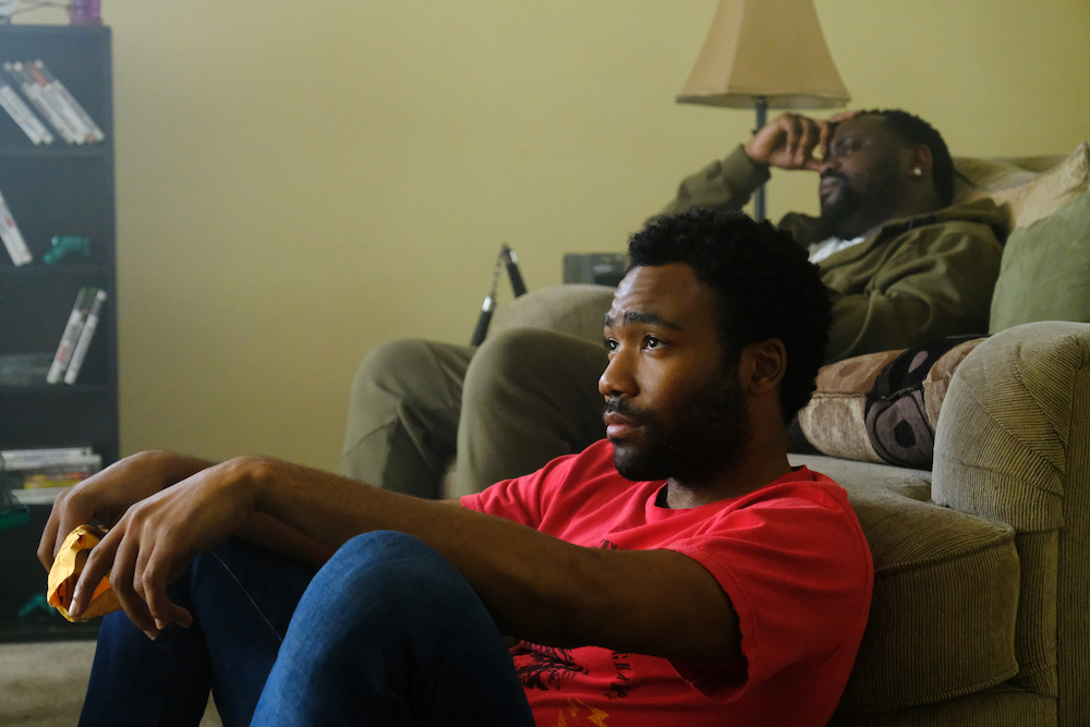 "ATLANTA Robbin' Season -- ""Sportin' Waves"" -- Season Two, Episode 2 (Airs Thursday, March 8, 10:00 p.m. e/p) Pictured: Donald Glover as Earnest Marks, Brian Tyree Henry as Alfred Miles. CR: Guy D'Alema/FX"