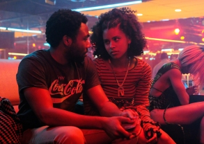 ATLANTA -- Season Two, Episode 3 - Pictured: Donald Glover as Earnest Marks, Zazie Beetz as Van. CR: Guy D'Alema/FX