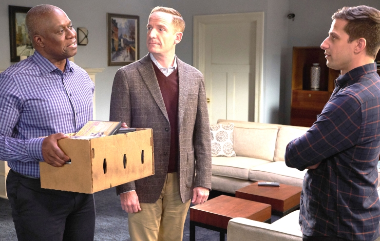 "Andre Braugher and Marc Evan Jackson, ""Brooklyn Nine-Nine"""