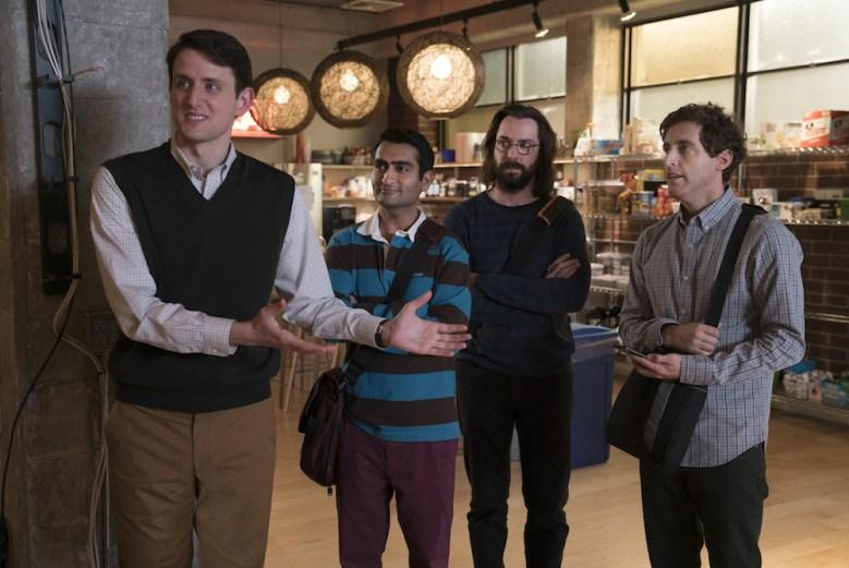 Silicon Valley Season 5 Zach Woods, Kumail Nanjiani, Martin Starr, Thomas Middleditch