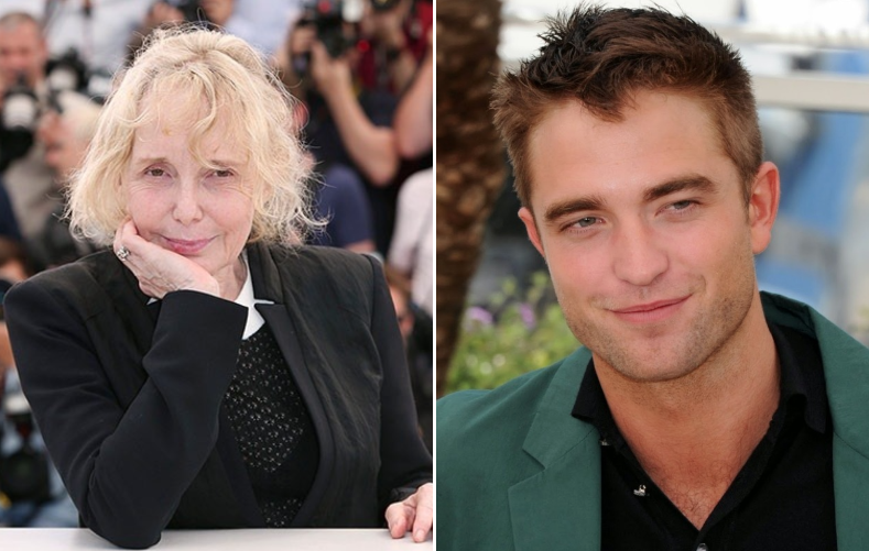 Claire Denis and Robert Pattinson