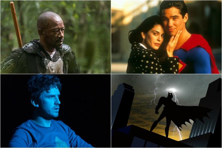 Shows based on graphic novels and the like go way beyond Batman and  Superman (though don't worry, they still show up).