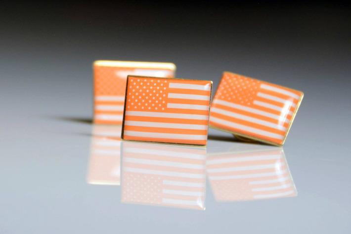 Everytown orange American flag