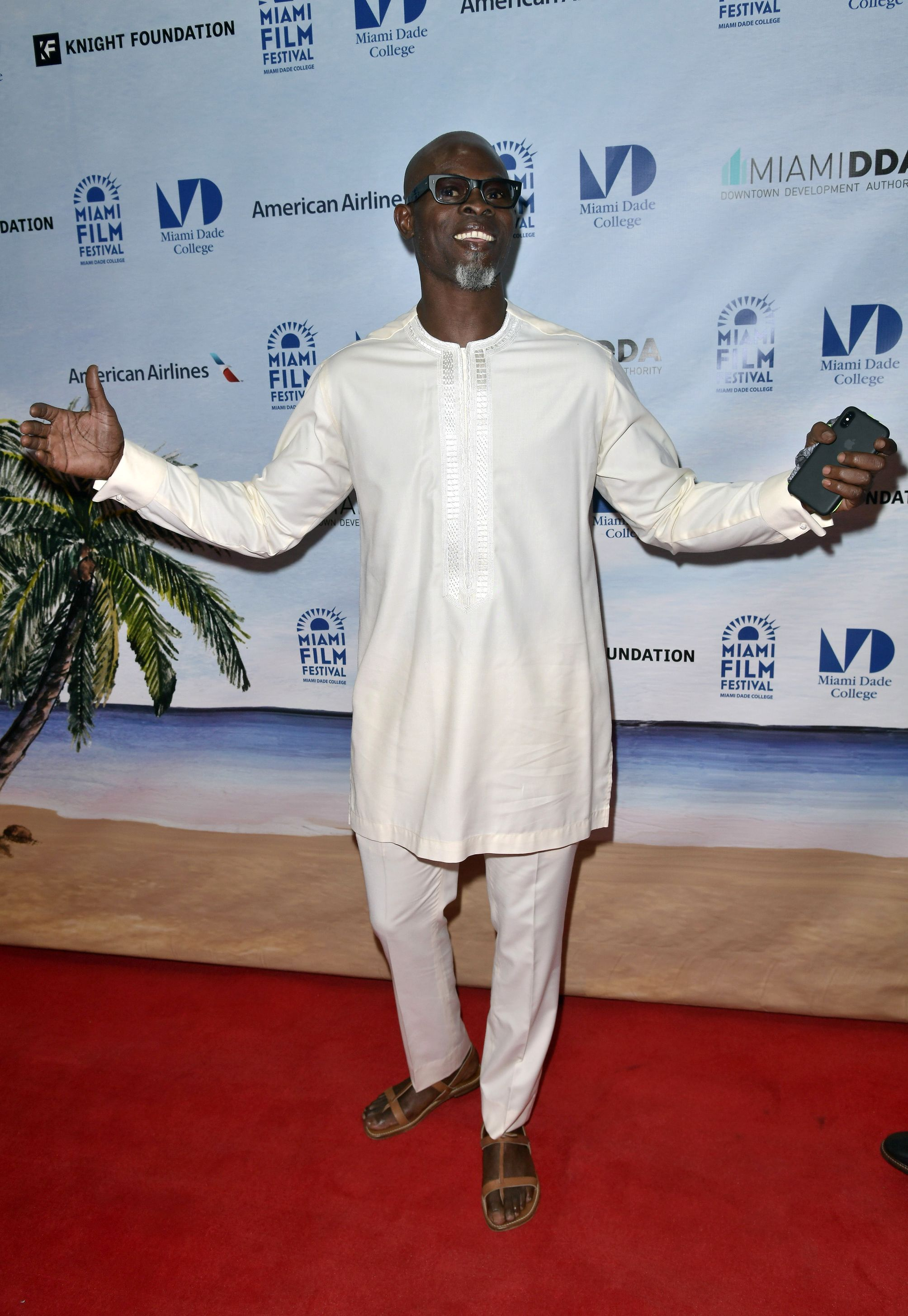 Djimon Hounsou'Tully' premiere and Opening Night, Miami Film Festival, USA - 09 Mar 2018