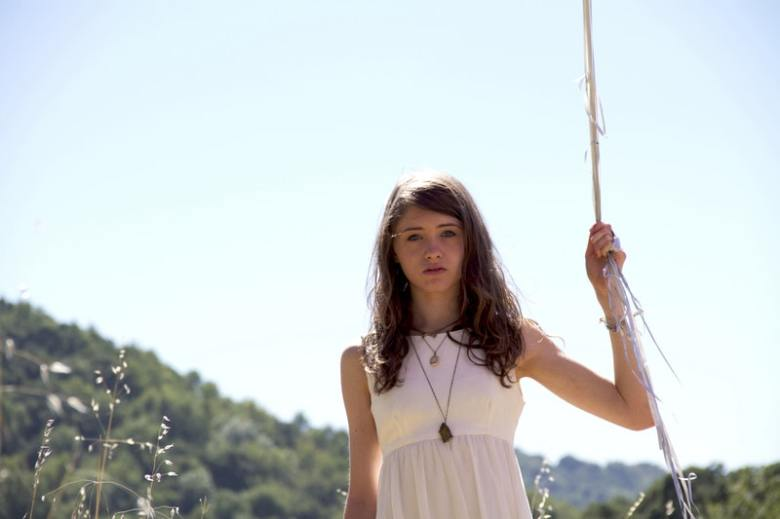 "Natalia Dyer in ""I Believe In Unicorns"""