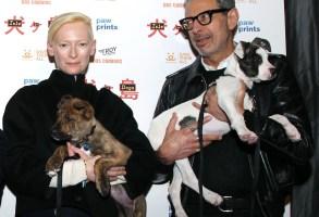 "Tilda Swinton and Jeff Goldblum, ""Isle of Dogs"" screening"