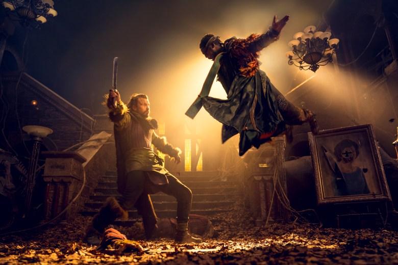 Babou Ceesay as Pilgrim- Into the