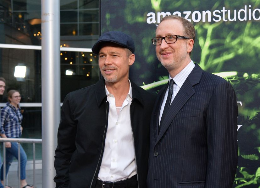 Brad Pitt and James Gray