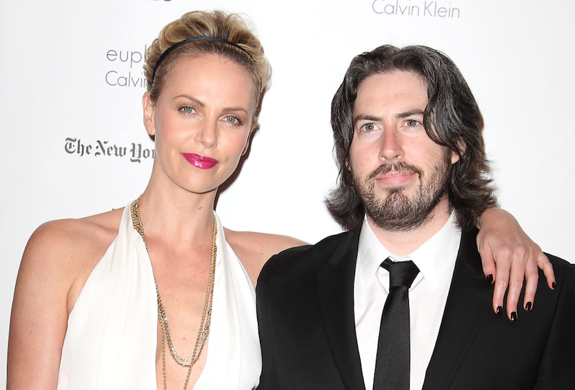 Jason Reitman and Charlize Theron