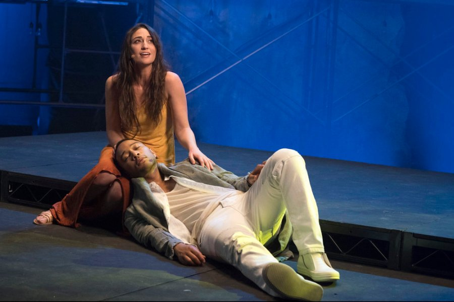 Sara Bareilles as Mary Magdalene and John Legend as Jesus Christ