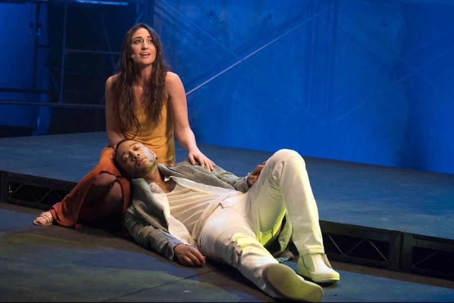 Sara Bareilles as Mary Magdalene and John Legend as Jesus Christ