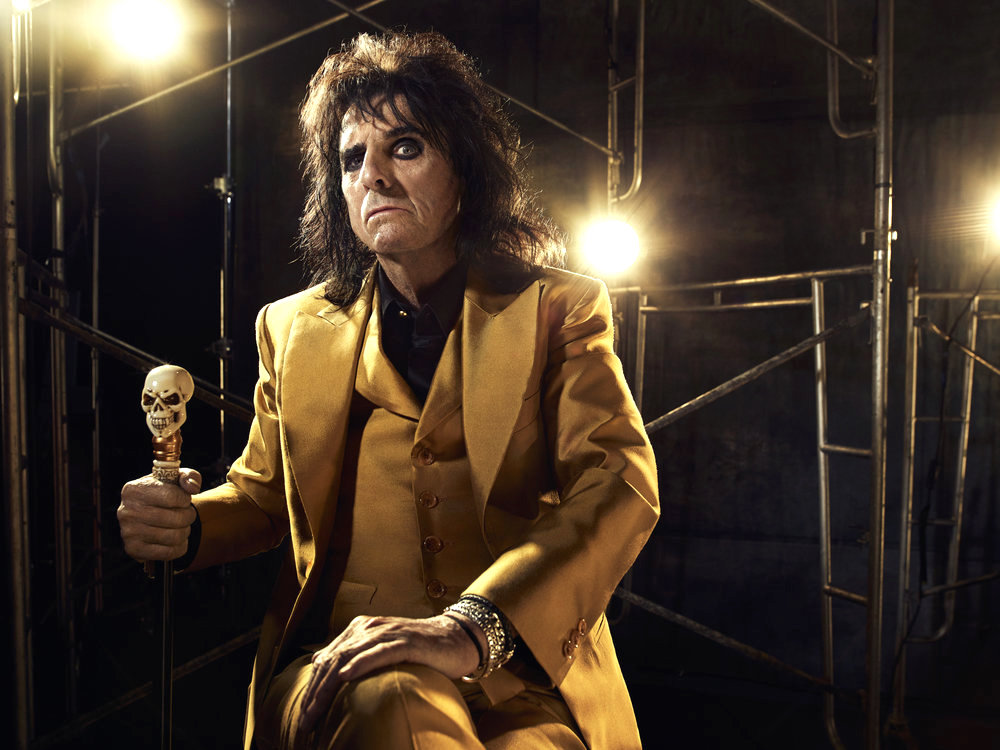 JESUS CHRIST SUPERSTAR LIVE IN CONCERT -- Season: 2018 -- Pictured: Alice Cooper as King Herod -- (Photo by: James Dimmock/NBC)