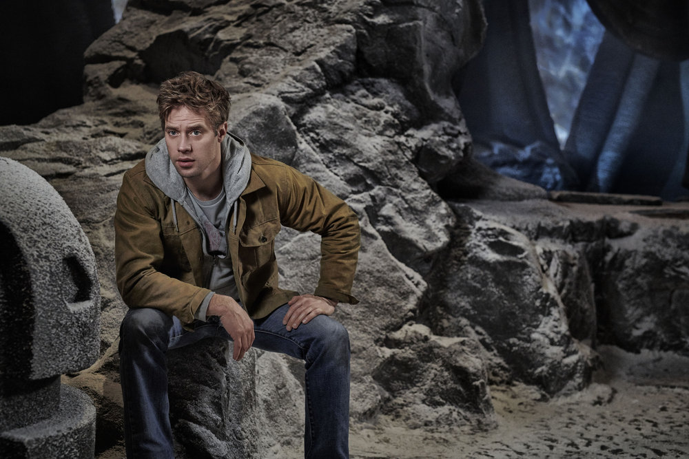 KRYPTON -- Season:1 -- Pictured: Shaun Sipos as Adam Strange -- (Photo by: Gavin Bond/Syfy)