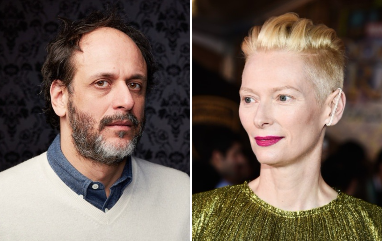 Luca Guadagnino and Tilda Swinton