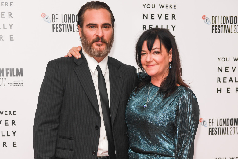 Joaquin Phoenix, Lynne Ramsay'You Were Never Really Here' premiere, BFI London Film Festival, UK - 14 Oct 2017