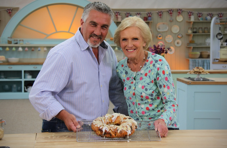 Great British Bakeoff Paul Hollywood Marry Berry