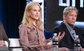 Nicole Kidman and David E. KelleyHBO's 'Big Little Lies' Panel, TCA Winter Press Tour, Los Angeles, USA - 14 Jan 2017
