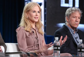 Nicole Kidman and David E. KelleyHBO's 'Big Little Lies' Panel, TCA Winter Press Tour, Los Angeles, USA - 14 Jan 2017