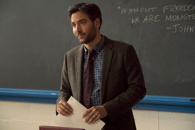 "RISE -- ""Most of All to Dream"" Episode 102 -- Pictured: Josh Radnor as Lou Mazzuchelli -- (Photo by: Virginia Sherwood/NBC)"