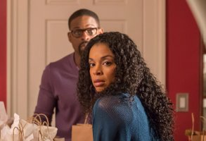 "THIS IS US -- ""The Wedding"" Episode 218 -- Pictured: (l-r) Sterling K. Brown as Randall, Susan Kelechi Watson as Beth -- (Photo by: Ron Batzdorff/NBC)"