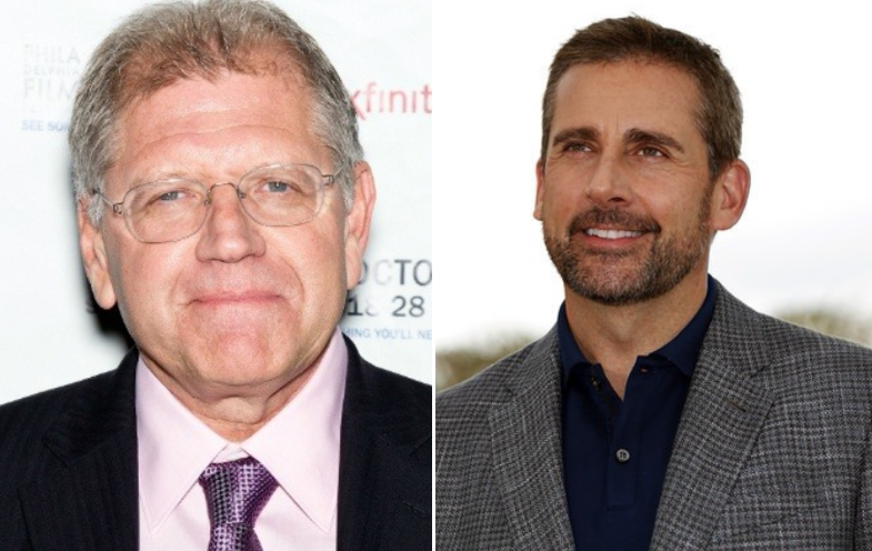 Robert Zemeckis and Steve Carell