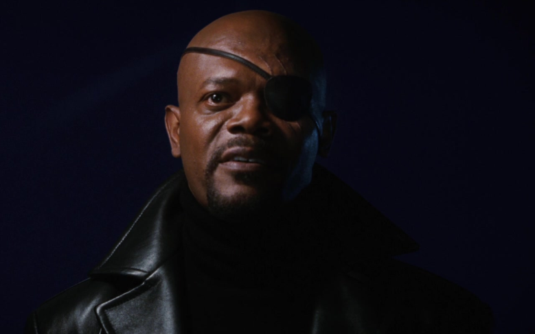 Samuel L Jackson Nick Fury Iron Man