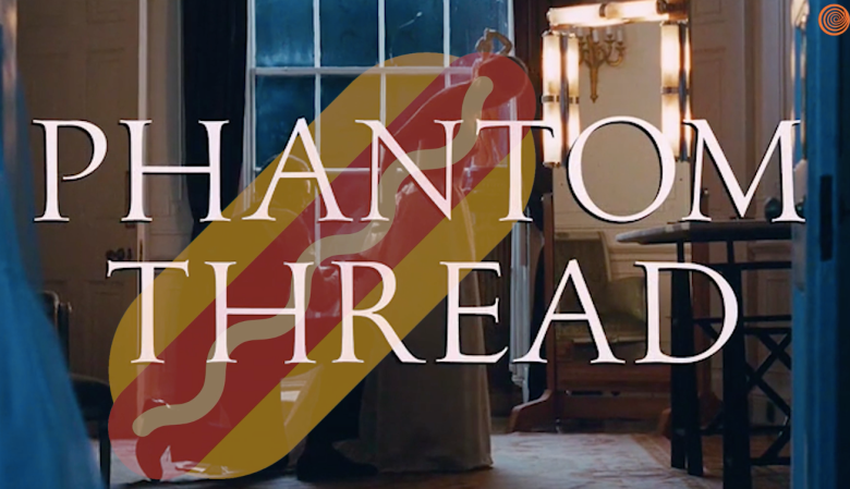 Phantom Thread hot dog
