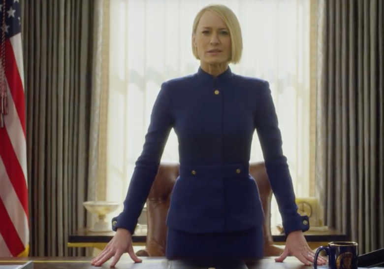 House Of Cards Season 6 Trailer: Robin Wright Is Just