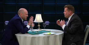 Derren Brown on The Late Late Show With James Corden