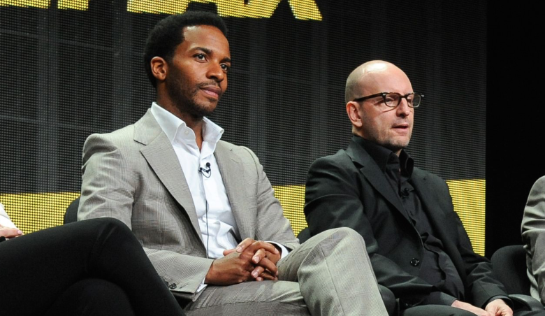 André Holland and Steven Soderbergh