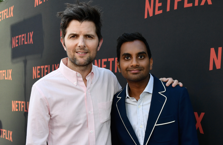 Adam Scott and Aziz Ansari