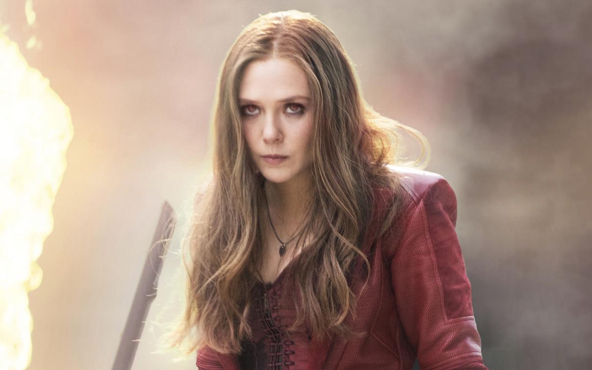 Elizabeth Olsen  sc 1 st  IndieWire & Elizabeth Olsen Wishes Her Scarlet Witch Costume Showed Less ...