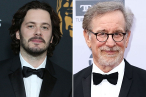 Edgar Wright and Steven Spielberg