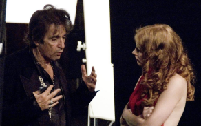 """Al Pacino and Jessica Chastain in """"Wilde Salomé"""""""