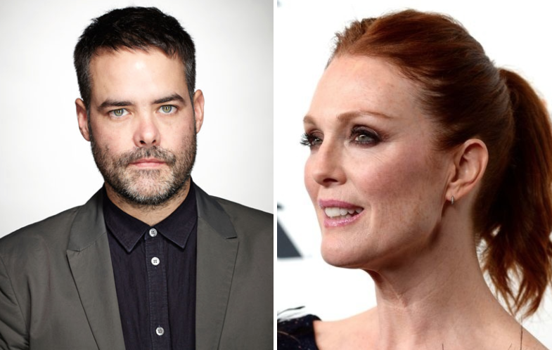 Sebastian Lelio and Julianne Moore