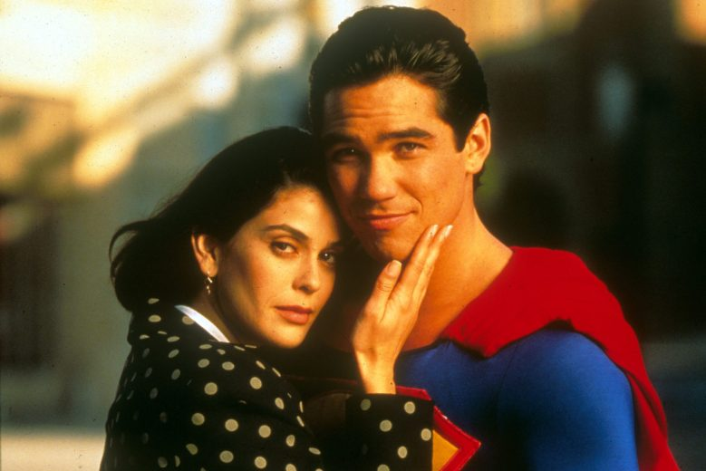 No Merchandising. Editorial Use Only. No Book Cover Usage.Mandatory Credit: Photo by Moviestore/REX/Shutterstock (1600434a)Lois And Clark: The New Adventures Of Superman , Teri Hatcher, Dean CainFilm and Television