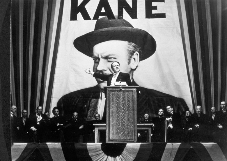 No Merchandising. Editorial Use OnlyMandatory Credit: Photo by SNAP/REX/Shutterstock (390868bi)FILM STILLS OF 'CITIZEN KANE' WITH 1941, ORSON WELLES IN 1941VARIOUS