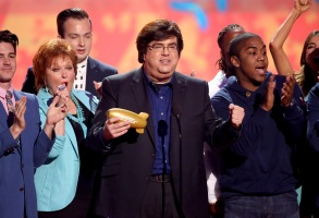 Dan Schneider accepts the lifetime achievement award at the 27th annual Kids' Choice Awards at the Galen Center, in Los Angeles27th Annual Kids' Choice Awards - Show, Los Angeles, USA