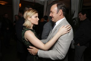 Kate Mara Kevin Spacey House of Cards