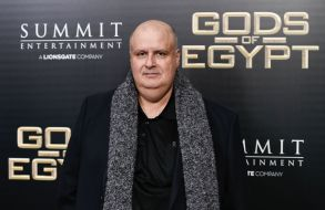 """Director Alex Proyas attends the """"Gods of Egypt"""" premiere at the AMC Loews Lincoln Square, in New YorkNY Premiere of """"Gods of Egypt"""", New York, USA - 24 Feb 2016"""