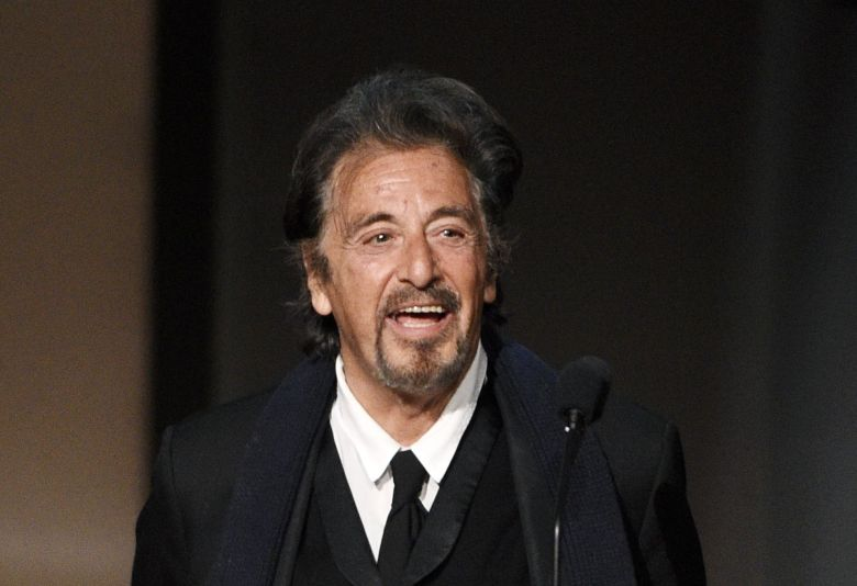 Actor Al Pacino walks onstage during the 45th AFI Life Achievement Award Tribute to Diane Keaton at the Dolby Theatre, in Los Angeles45th AFI Life Achievement Award - Show, Los Angeles, USA - 8 Jun 2017