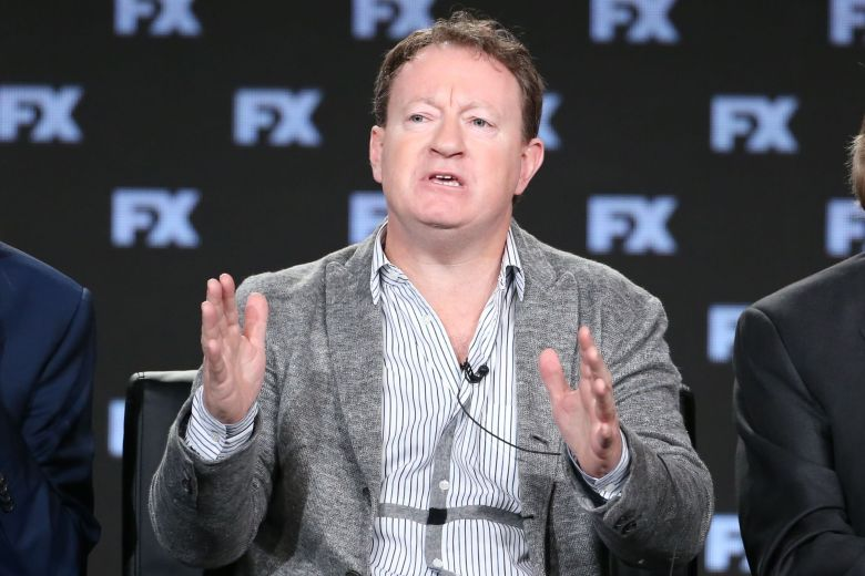 Simon BeaufoyFX 'Trust' TV show panel, TCA Winter Press Tour, Los Angeles, USA - 05 Jan 2018