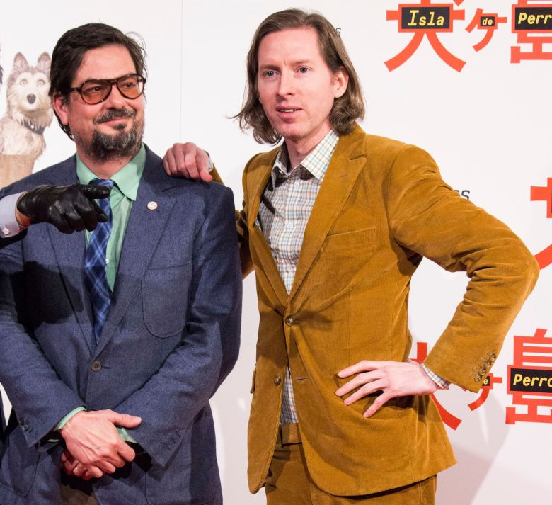 Wes Anderson and Roman Coppola'Isle of Dogs' photocall, Madrid, Spain - 27 Feb 2018