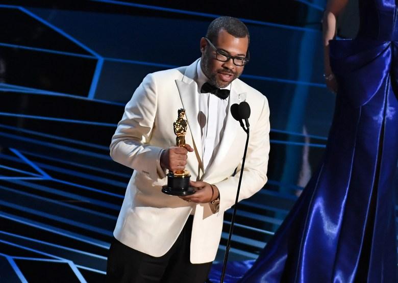 Jordan Peele - Original Screenplay - 'Get Out'90th Annual Academy Awards, Show, Los Angeles, USA - 04 Mar 2018