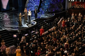 Frances McDormand - Lead Actress - 'Three Billboards Outside Ebbing, Missouri', presented by Jodie Foster and Jennifer Lawrence90th Annual Academy Awards, Show, Los Angeles, USA - 04 Mar 2018