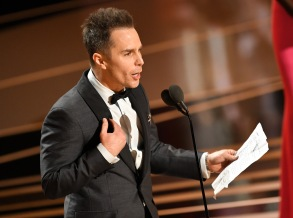 Sam Rockwell - Supporting Actor - 'Three Billbiards Outside Ebbing, Missouri'90th Annual Academy Awards, Show, Los Angeles, USA - 04 Mar 2018