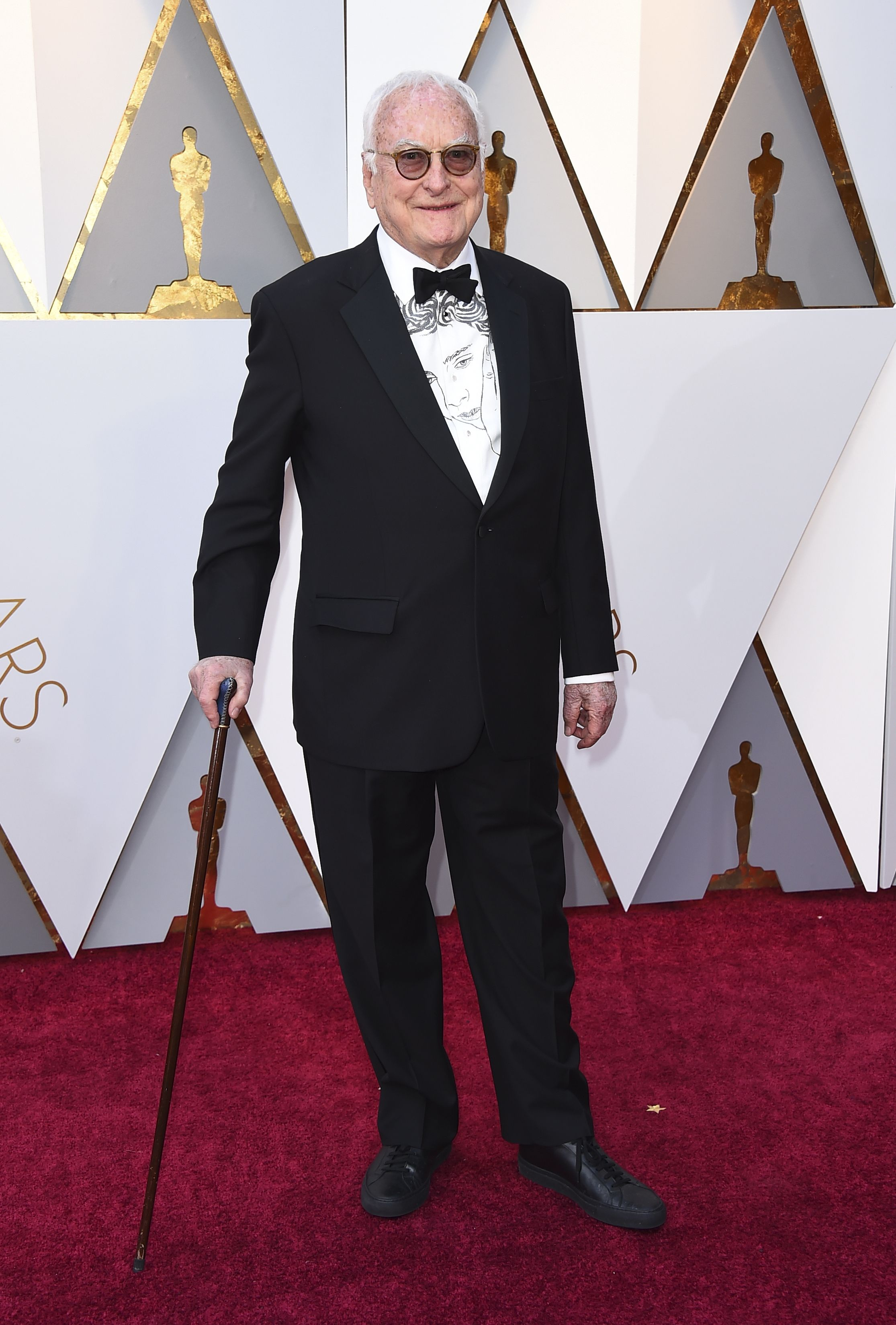 James Ivory arrives at the Oscars, at the Dolby Theatre in Los Angeles90th Academy Awards - Arrivals, Los Angeles, USA - 04 Mar 2018