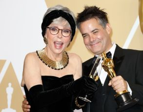 Rita Moreno (L) and Sebastián Lelio, winner of the 'Foreign Language Film' award for Â?'A Fantastic Woman' Â?poses in the press room during the 90th annual Academy Awards ceremony at the Dolby Theatre in Hollywood, California, USA, 04 March 2018. The Oscars are presented for outstanding individual or collective efforts in 24 categories in filmmaking.Press Room - 90th Academy Awards, Hollywood, USA - 04 Mar 2018