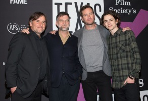 Richard Linklater, Paul Thomas Anderson, Armie Hammer and Timothée ChalametTexas Film Awards Gala, SXSW Festival, Austin, USA - 08 Mar 2018