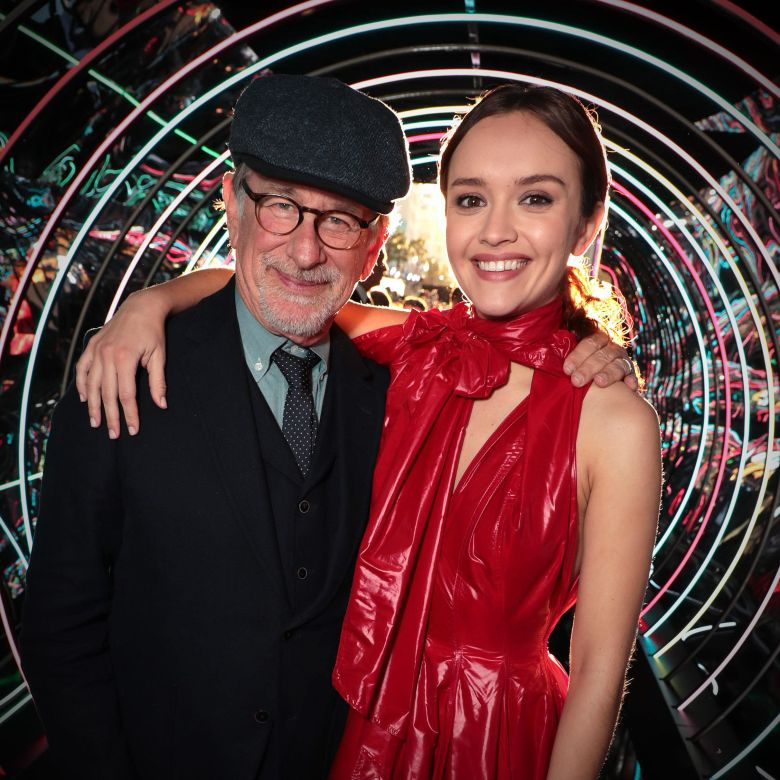 Steven Spielberg and Olivia CookeWarner Bros. Pictures World Premiere of 'Ready Player One' at The Dolby Theatre, Los Angeles, CA, USA - 26 March 2018